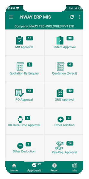 ERP Mobile Application